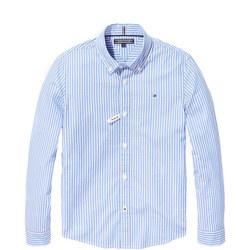 Boys Stripe Oxford Shirt