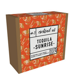 Tequila Sunrise Cocktail Set