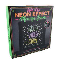 Neon Message Frame
