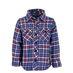 Two-Pocket Check Shirt