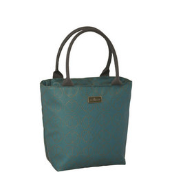 B&E Champagne Edit Insulated Lunch Tote Teal