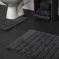 Linear Two Piece Bathroom Set Charcoal