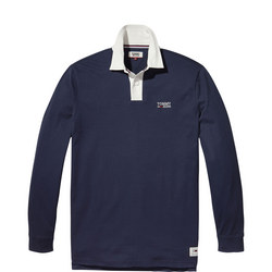 Plain Cotton Rugby Shirt