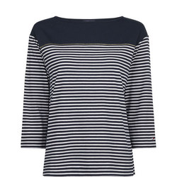 Block Stripe Top