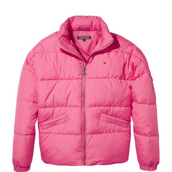 Concealed Hood Puffer Jacket