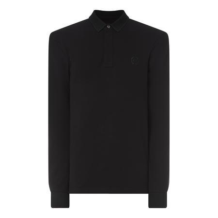 Long Sleeve Stretch Polo Shirt