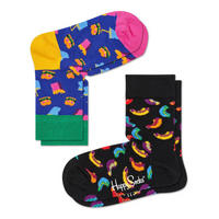 Two-Pack Patterned Socks