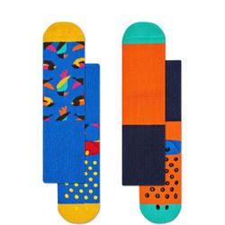 Babies Bird Anti-Slip Socks Two-Pack