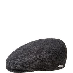 Lord Herringbone Flat Cap