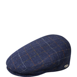 Lord Windowpane Flat Cap