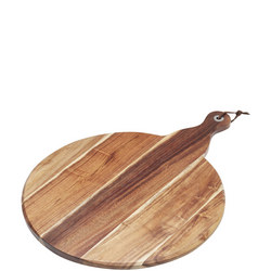 Artesà Large Acacia Wood Paddle Serving Board