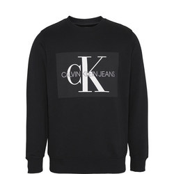 Monogram Logo Sweat Top