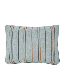 Pippin Cushion Charcoal-Coral