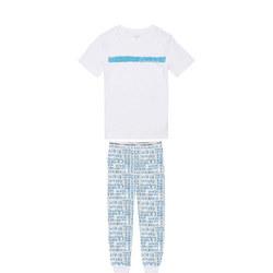 Kids Short Sleeve Pyjama Set