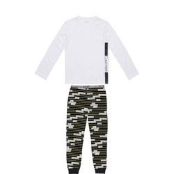 Kids Stripe Logo Pyjama Set
