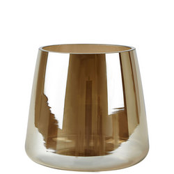 Glass Vase Smokey Brown
