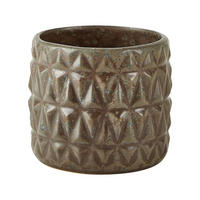 Hand Made Stoneware Flowerpot