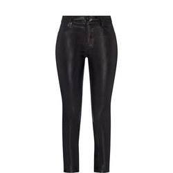 Maria Skinny Coated Jeans