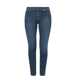 Ruby High-Rise Straight Jeans
