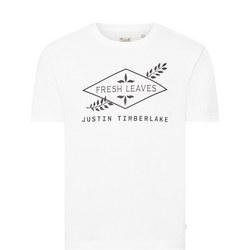 Justin Timberlake Fresh Leaves Graphic T-Shirt