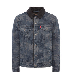 Justin Timberlake Fresh Leaves Sherpa Jacket