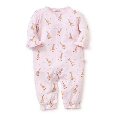 Sophie la Girafe Flounced Babygrow