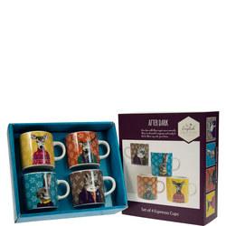 Afterdark Espresso Cups Set Of Four