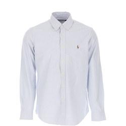 Custom Fit Stripe Oxford Shirt