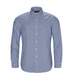 Custom Fit Gingham Oxford Shirt