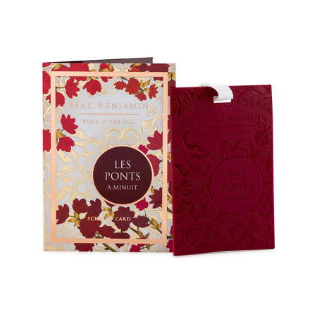 Paris in the Fall Scented Card Les Ponts