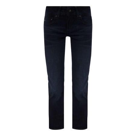 Midge Saddle Straight-Fit Jeans