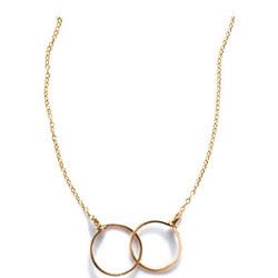 Annika Inez Interlinking Circle Necklace