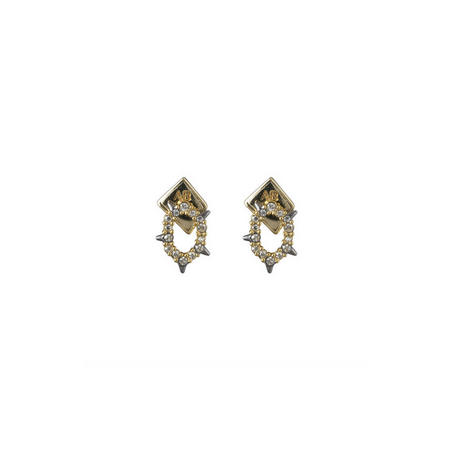 Alexis Bittar Spiked Stud Earrings