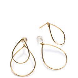 Annika Inez Double Teardrop Earrings