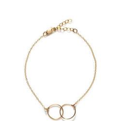 Annika Inez Interlinking Circle Bracelet