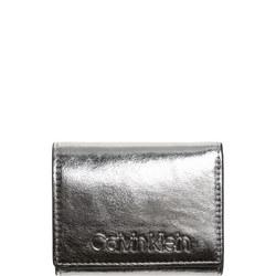 Small Metallic Wallet