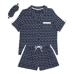Logo Print Pyjama Set