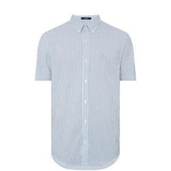Striped Seersucker Shirt