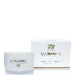 Cassis Leaves And Jasmine Scented Travel Candle