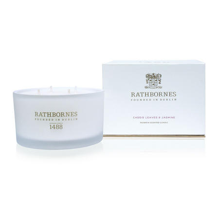 Cassis Leaves And Jasmine Four Wick Scented Candle