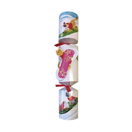 Cats Off Leash Pet Christmas Crackers