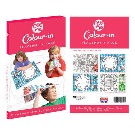 Four-Pack Colour In Placemats