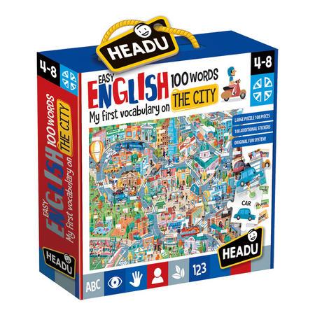 My First Vocabulary City Jigsaw