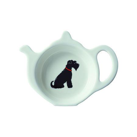 Schnauzer Teapot Dish