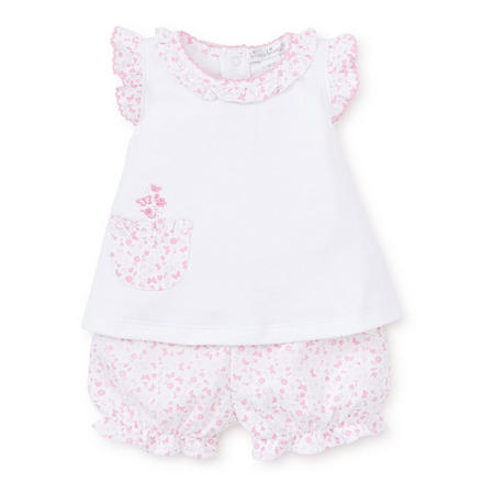 Mini Blooms Two-Piece Outfit Set