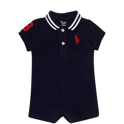 Shortall Polo Shirt Babygrow Baby