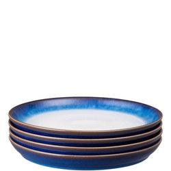 Blue Haze Dinner Plates Set Of Four