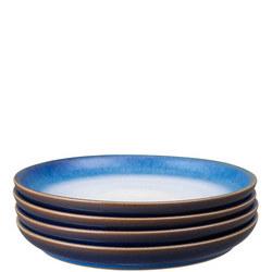 Blue Haze Small Plates Set Of Four