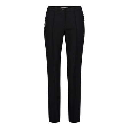 Tailored Zip Detail Trousers