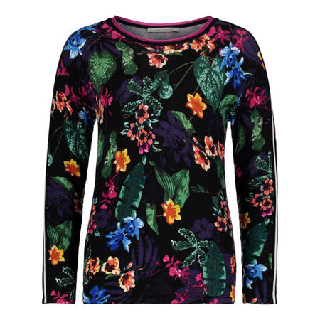 Floral Long Sleeve Sweater